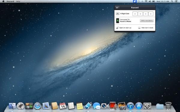 Keycard - Screen lock utility for Mac - Greek iPhone
