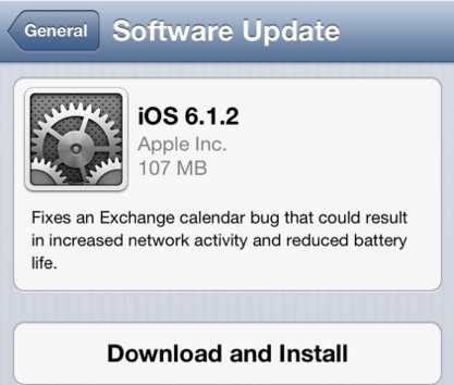 apple released ios 612 to address exchange issues greekiphone