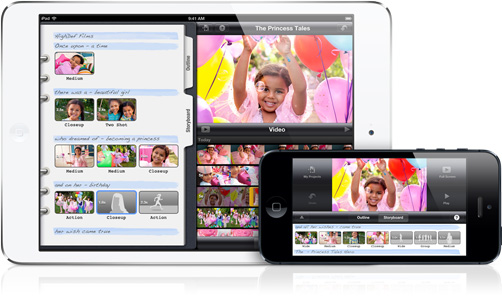 iMovie update for iPhone and iPad greekiphone