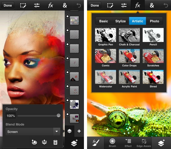 adobe photoshop touch for iphone and ipod touch greekiphone