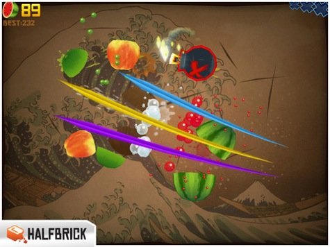 fruit ninja app of the week copy greekiphone