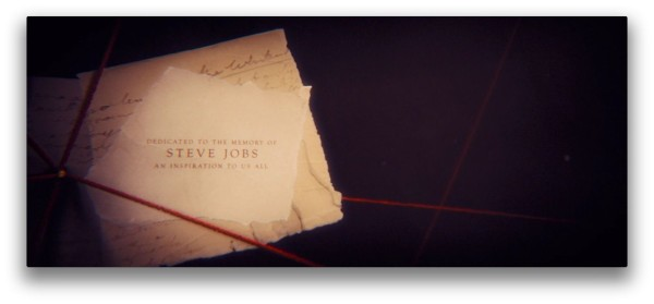john carter credits dedicated to steve jobs greekiphone