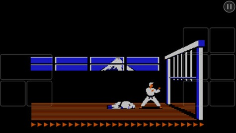 karateka classic for iphone and ipad copy greekiphone
