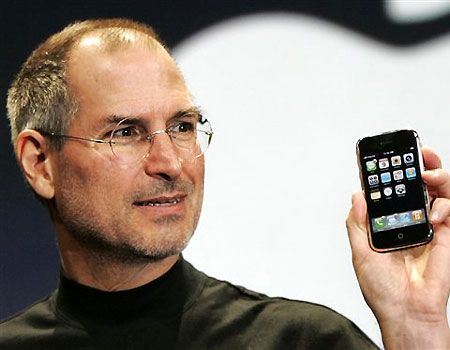 MacWorld 2007 Steve Jobs announce iPhone greekiphone