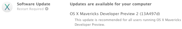 mavericks developer preview 2 mac greekiphone