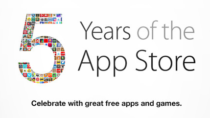 app store celebrates 5 years greekiphone