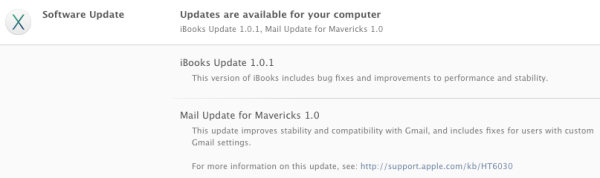mavericks ibooks and mail update greekiphone