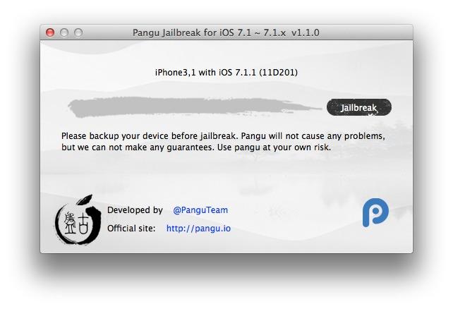pangu jailbreak tool for mac