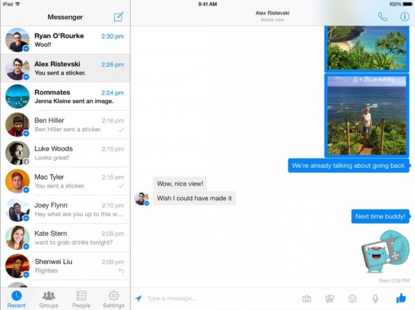 facebook messenger for ipad greekiphone