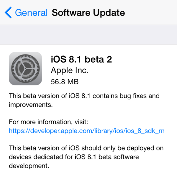 ios 8.1 beta 2 greekiphone