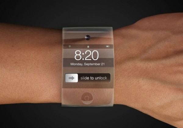 Apple iWatch with curved glass rumors greekiphone