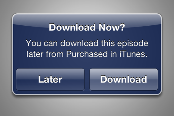 itunes store download later greekiphone