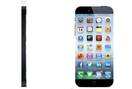 iPhone 6 concept with edge to edge display greekiphone
