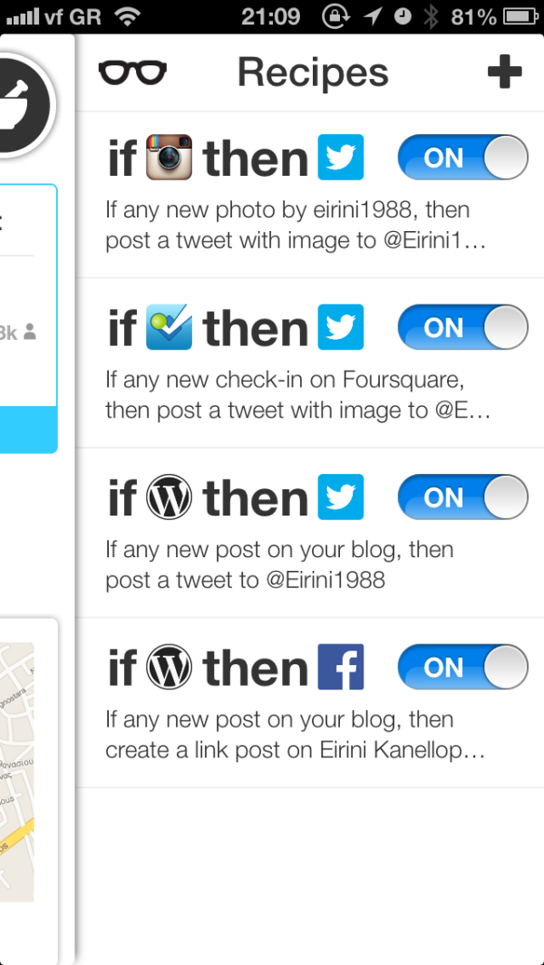 ifttt for ipad and iphone greekiphone