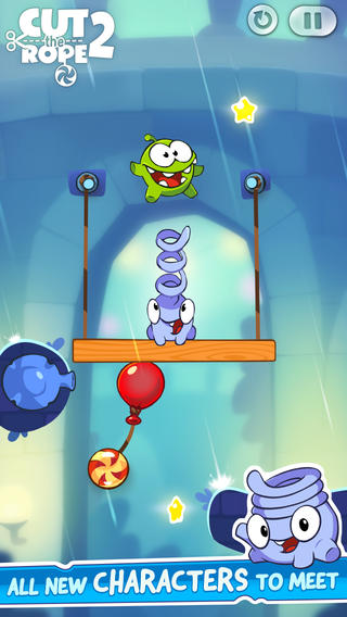 cut the rope 2 iphone  ipad greekiphone