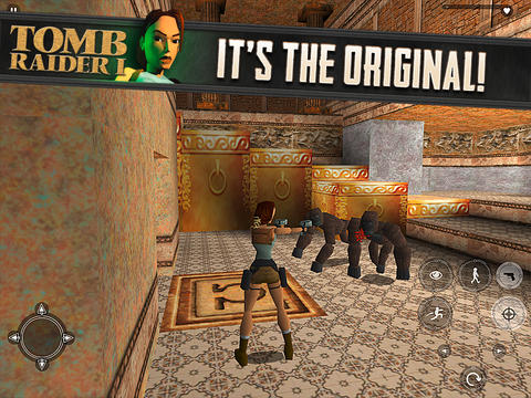 tomb raider 1 for iphone ipad greekiphone