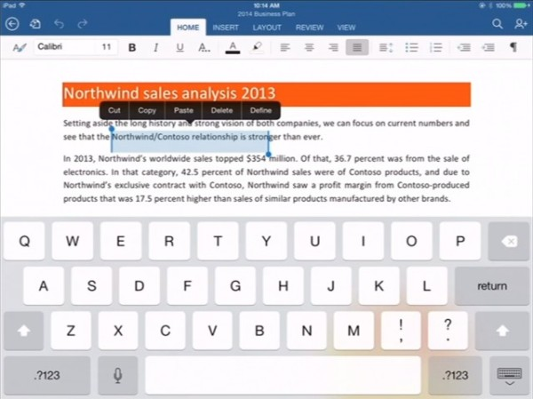 microsoft office word excel powerpoint for ipad greekiphone