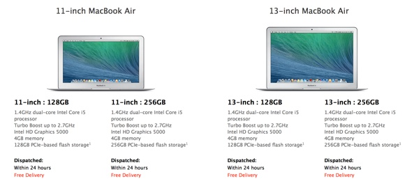 new macbook air with faster cpu greekiphone