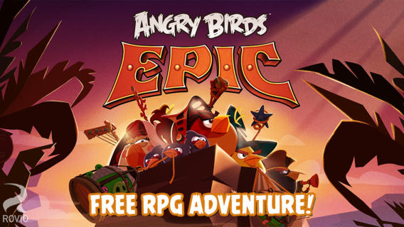 angry birds epic for iphone and ipad greekiphone