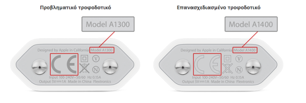 apple european 5w adapter exchange program greekiphone