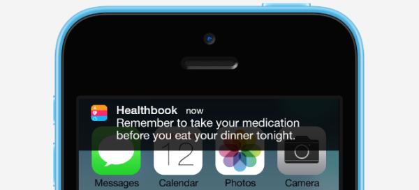 healthbook demo greekiphone