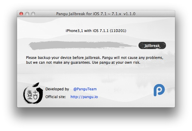 pangu jailbreak tool for mac