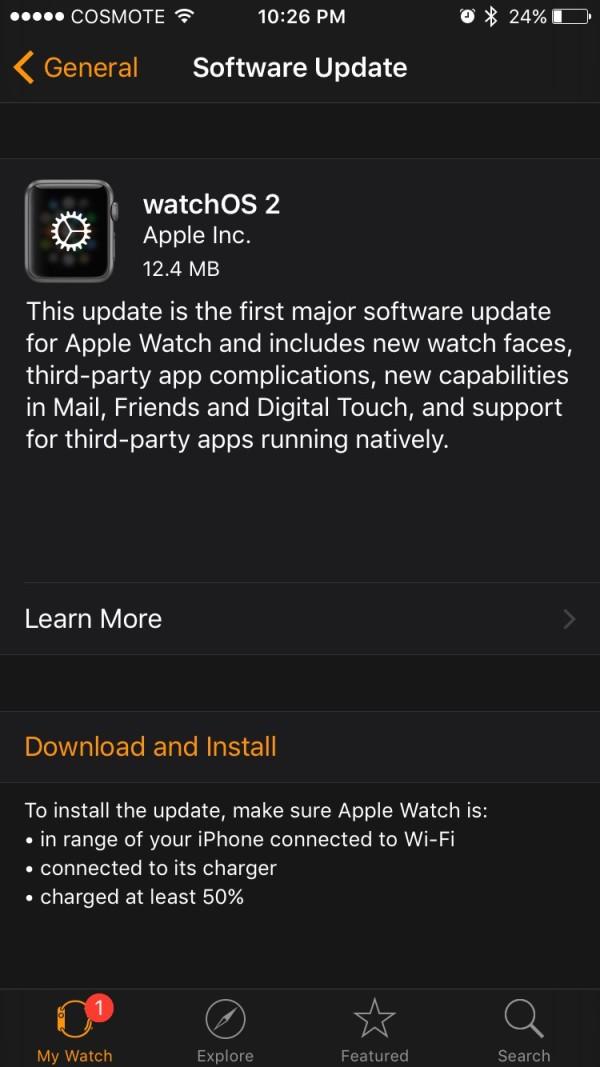 watchos2 update greekiphone